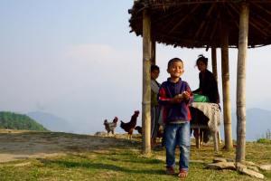 Alba sull'Annapurna, Sarangkot - Foto di Antonio Ficai