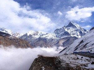 montagne nepal