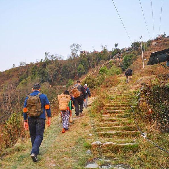 Alba sull'Annapurna, Sarangkot